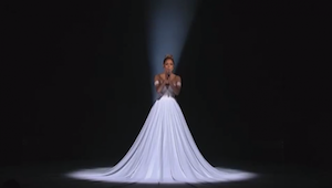 Haar optreden was prachtig, maar toen het licht uitging, gebeurde er iets nog mo