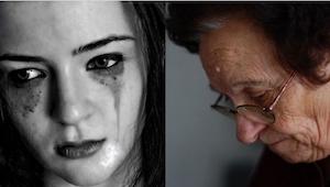 Toen haar kleindochtertje haar huilend vertelde dat het leven te moeilijk is, li