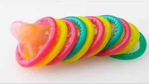 Je zou niet geloven dat een condoom die van kleur veranderen als ze een geslacht