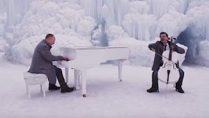 Ze speelden de Winter van Vivaldi en Let it go uit Frozen. Het resultaat? Schitt
