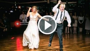 De eerste dans van een dochter met haar vader op een bruiloft, die een hit werd