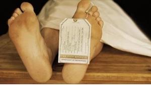 Toen de ouders het lichaam van hun zoon identificeerden in het mortuarium, werde