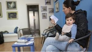 Wat een zekere pediater op de deur van zijn praktijk schreef, zet iedere moeder