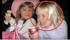 Dit meisje overleed toen ze zes jaar was. 3 jaar na haar dood vond haar gedesori