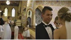 Een bruiloft van een Pools echtpaar is al meer dan 6 miljoen keer bekeken. De re
