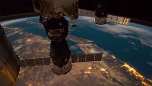 Wat er te zien is op deze door de NASA gepubliceerde opnames, is niet te geloven