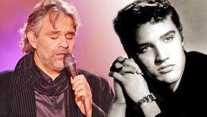 Je moet horen hoe Andrea Bocelli een hit van Elvis Presley uitvoert. Ongelofelij