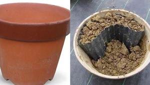 Ik dacht nooit dat je iets zo mooi kon doen met een oude pot!