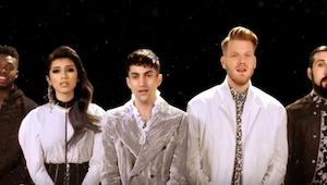 Deze Elvis-hit gebracht door Pentatonix geeft je rillingen.
