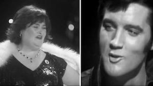 Luister eens naar Elvis en Susan Boyle, om van te genieten!