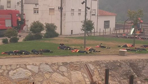 13 slapende brandweerlieden tijdens een brand. Toen ik erachter kwam waarom ,toe