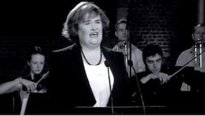 Luister naar de mooie versie van ''Unchained Melody'', uitgevoerd door Susan Boy