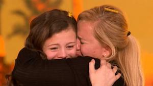 Wanneer deze charmante 13-jarige verscheen, wist de jury dat het een bijzondere