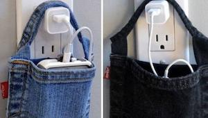 20 briljante creatieve manieren om oude jeans te herbruiken.