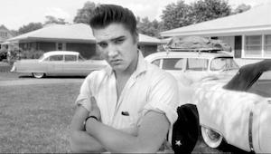 Elvis Presley's eerste opname uit de tijd toen hij  nog een vrachtwagenchauffeur