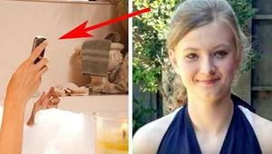 De tiener stierf in het bad nadat hij iets gedaan heeft dat iedereen doet. Als j