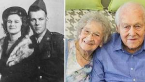 Ze zijn beide 99 jaar oud en dit jaar vieren ze hun 80ste huwelijksverjaardag! N