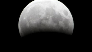 Mis deze speciale gebeurtenis vandaag niet!  Volle maan en maansverduistering.
