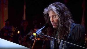 Aerosmith's hit klinkt akoestische zo mooi!