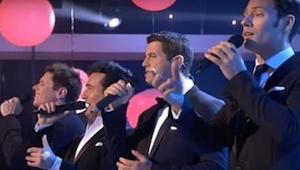 Hoe deze 4 mannen het lied van Whitney Houston zingen zal je vast en zeker aange