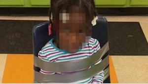 Ouders zagen per ongeluk een foto van hun dochter die door kleuterschoolpersonee