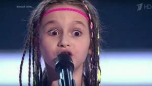 Toen tijdens een Russische talentenjacht een meisje verscheen, geassisteerd door