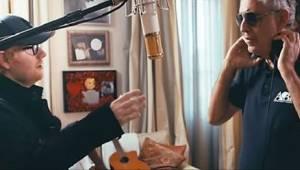 Ed Sheeran en Andrea Bocelli voerden samen een waanzinnige versie op van het num