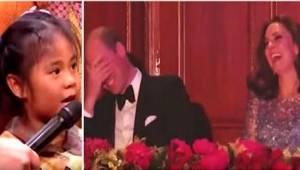 Een klein meisje had een ongewoon verzoek voor prins William. Geheel tegen de ve
