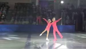 Een vrouw van 79 en man van 83 verschenen op de ijsbaan en gaven een geweldig op