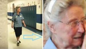 De directrice verklapte het geheim van de 77-jarige concierge en dwong haar in t