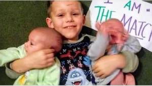 Toen ouders hun zoontje van 4 vroegen of hij zijn broertjes wilde helpen door be
