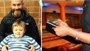 Een vader liet zijn gezin achter. 30 jaar later deed het gezicht van een serveer