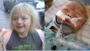 Hun 6-jarige dochtertje was voortdurend opstandig. Ze gaven gehoor aan haar gesc