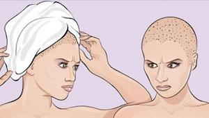 Als je uit de douche komt, wikkel je dan een handdoek om je hoofd? Nou, je doet