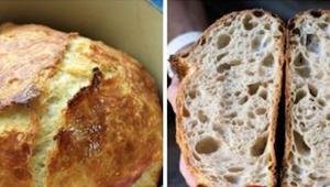 Brood zonder kneden en praktisch geen moeite? Toen ik het voor de eerste keer vo