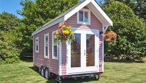 Dit huis is slechts 15 vierkante meter. Toen ik zag hoe het er binnenin uitzag -