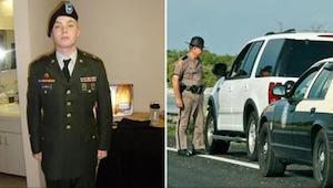 De politieagent stopte de oorlogsveteraan. De reden heeft me tot tranen geleid.
