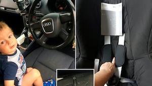 Moeder dacht dat haar kind telkens wagenziek was. Het bleek echter de autostoel