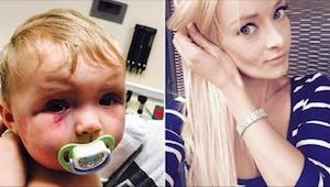 Een vrouw had een 8 maanden oud kind toegetakeld. Het vonnis van het gerecht sch