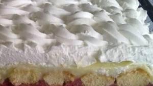 Deze taart hoef je niet te bakken en iedere laag is ongelofelijk genot! Bekijk h