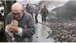 Een 83-jarige knuffelt een van de belangrijkste wezens in zijn leven terwijl zij