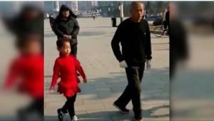 Hij stak zijn twee kleindochters aan met zijn liefde voor dansen. Bekijk hun gez