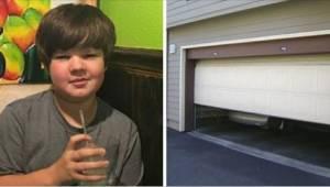 Ouders huilen om hun 12-jarige zoon. Hij is overleden ten gevolge van pesterijen